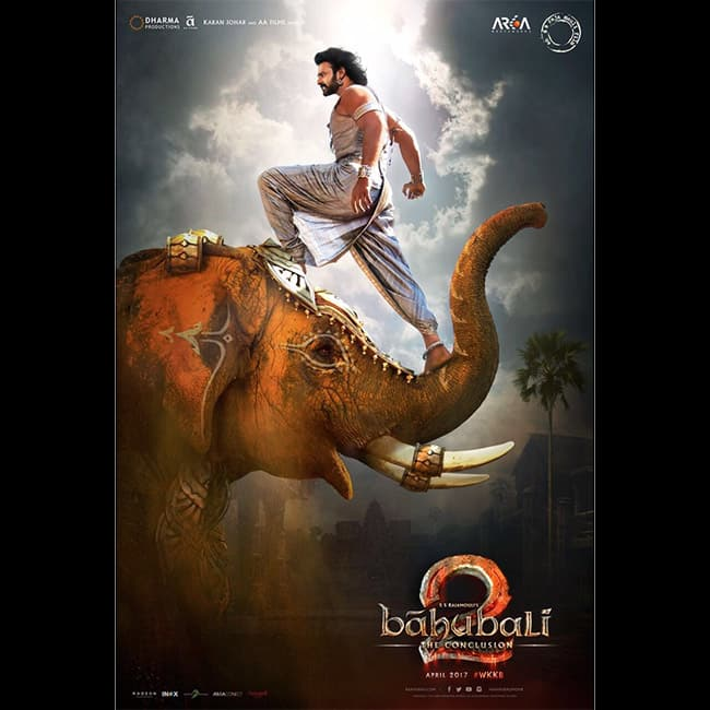 The latest poster of   Baahubali 2  is out