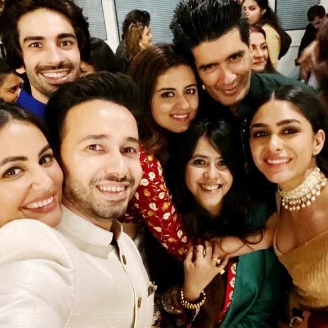 The million dollar selfie from Ekta Kapoor s Diwali party 2020