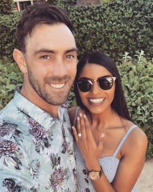 IPL Star Glenn Maxwell' Annouces Engagement With Indian-Origin Girlfirend Vini Raman | SEE PHOTOS