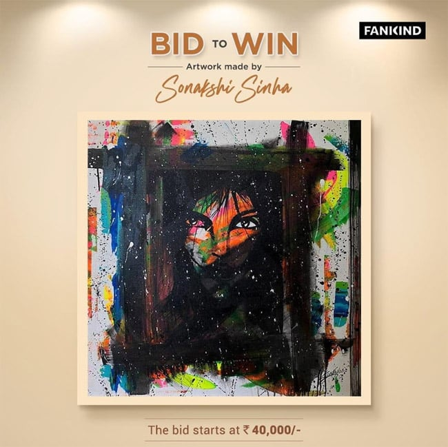 The price for this artwork is Rs 40 000