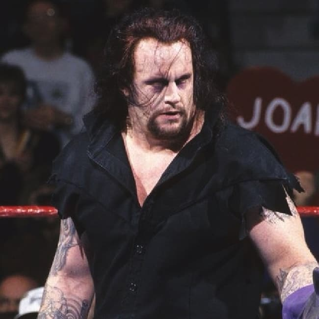 The Undertaker has been wrestling since 1990
