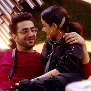 Jasmin Bhasin and Aly Goni's loved up pictures from Bigg Boss 14 house