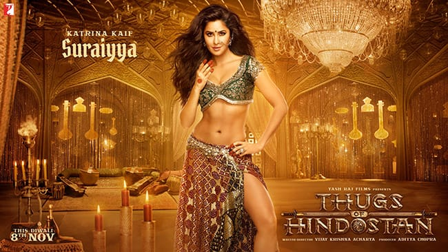 Thugs of Hindostan  First Look of Katrina Kaif as Suraiyya is super hot