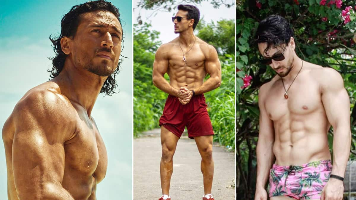 Tiger Shroff is a fitness freak  his hot pictures can give you gym motivation