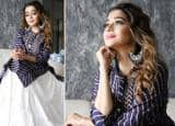 Tina Datta Looks so Graceful in Her Latest Blue Traditional Outfit - See Viral Photos