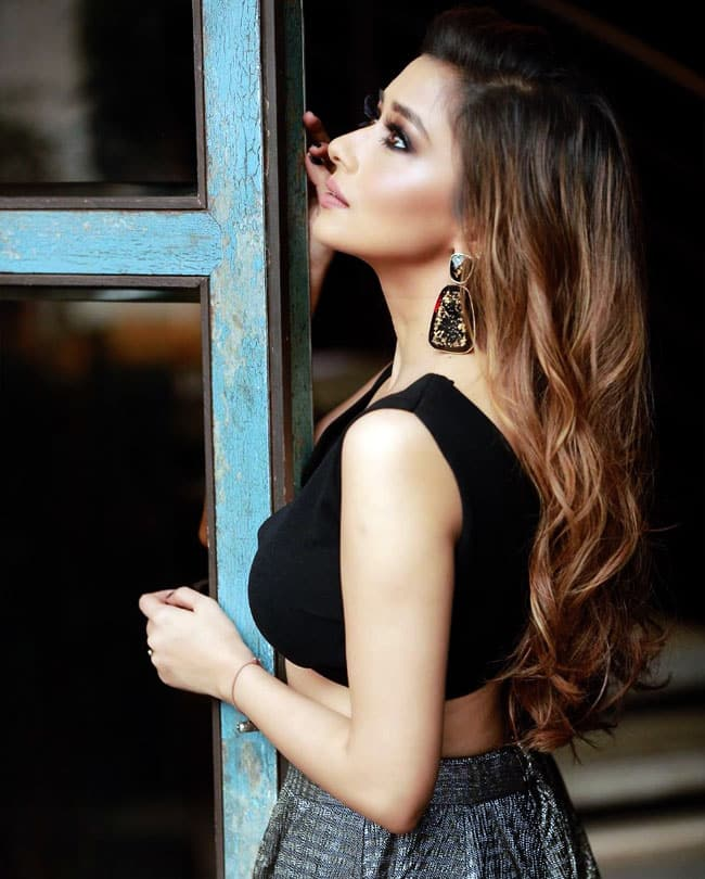 Tina Datta's sultry pose