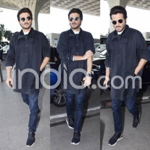 Total Dhamaal Stara Ajay Devgn, Madhuri Dixit Nene, Anil Kapoor And Riteish Deshmukh Spotted at The Airport in Their Stylish Outfits