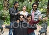 Ajay Devgn, Madhuri Dixit, Anil Kapoor And Others Promote Total Dhamaal in Delhi