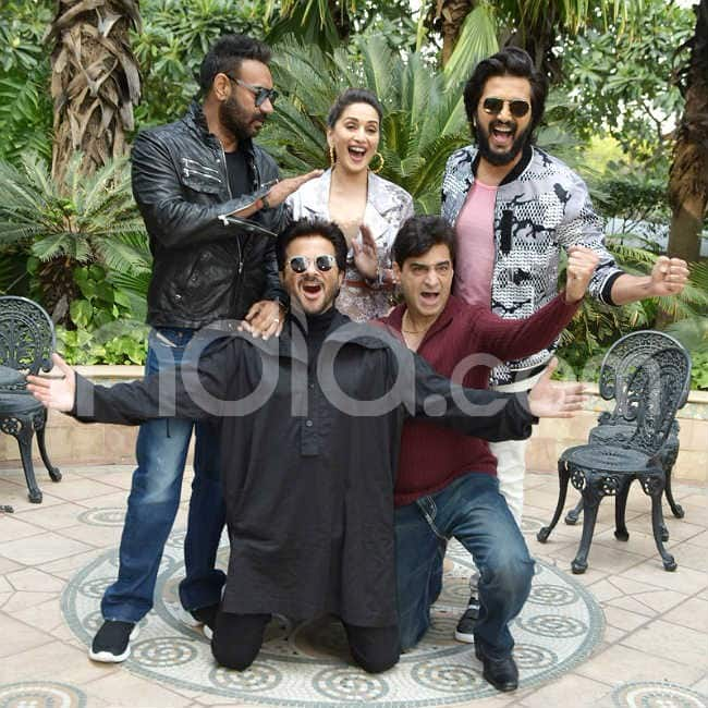 Total Dhamaal team visits Delhi