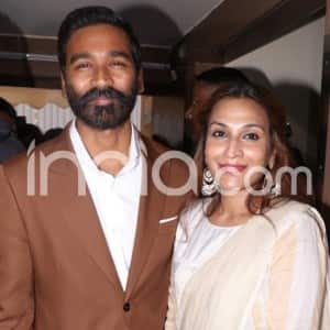Dhanush Launches Trailer of His First International Film The Extraordinary Journey of The Fakir With Wife Aishwarya R. Dhanush