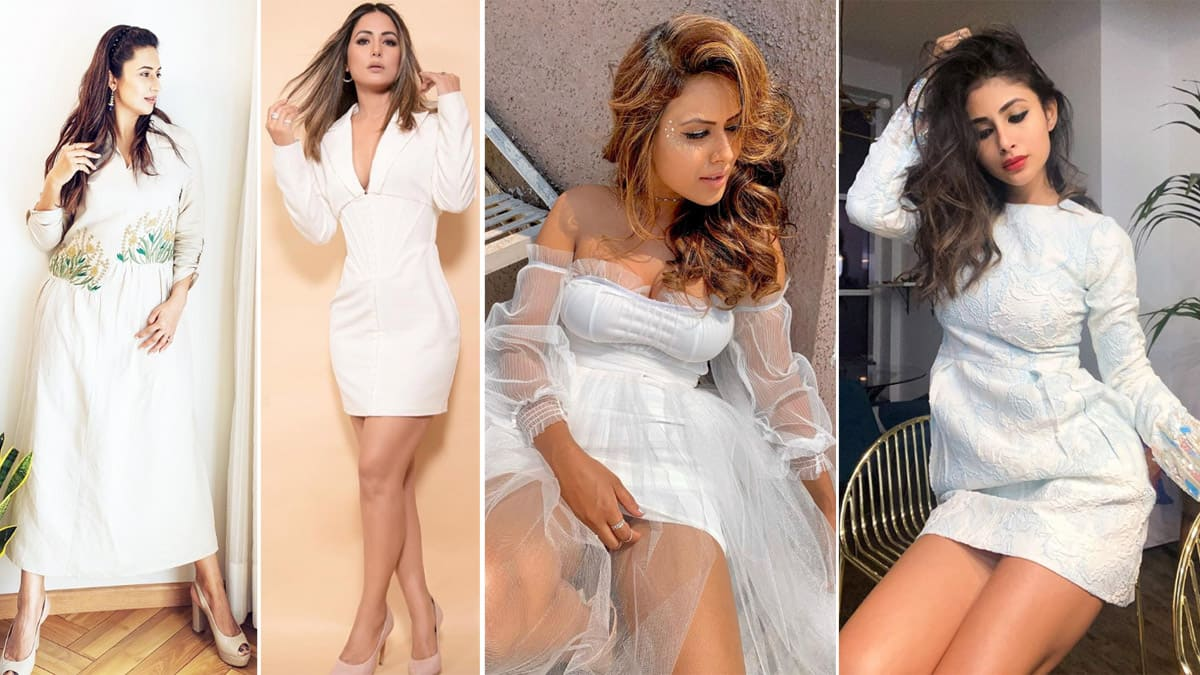 TV Celebs    Who Looks Oh So Gorgeous in White