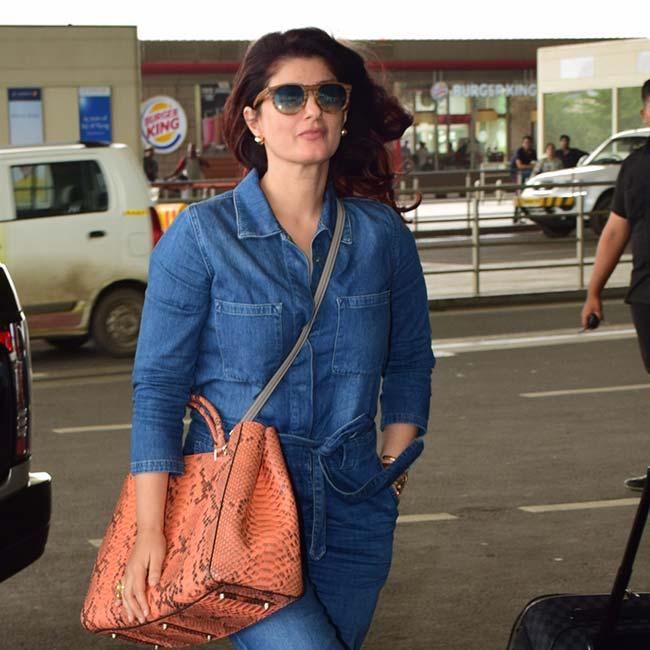 Twinkle Khanna Looks Stylish