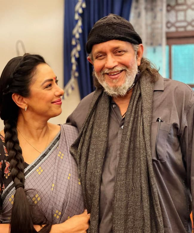 upali Ganguly And Mithun Chakraborty Featured In Film  Angaara