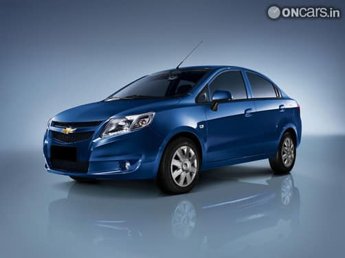 Upcoming Car  Chevrolet Sail Sedan Exterior img1