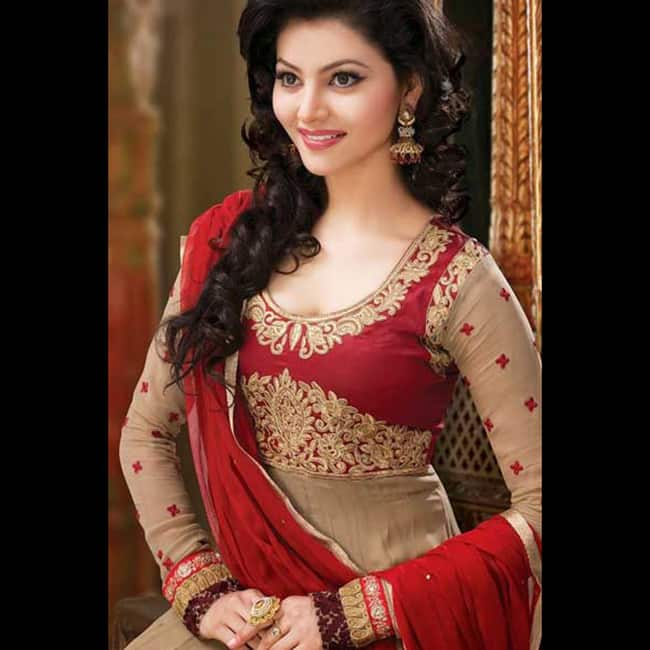 Urvashi Rautela looks red hot in this picture