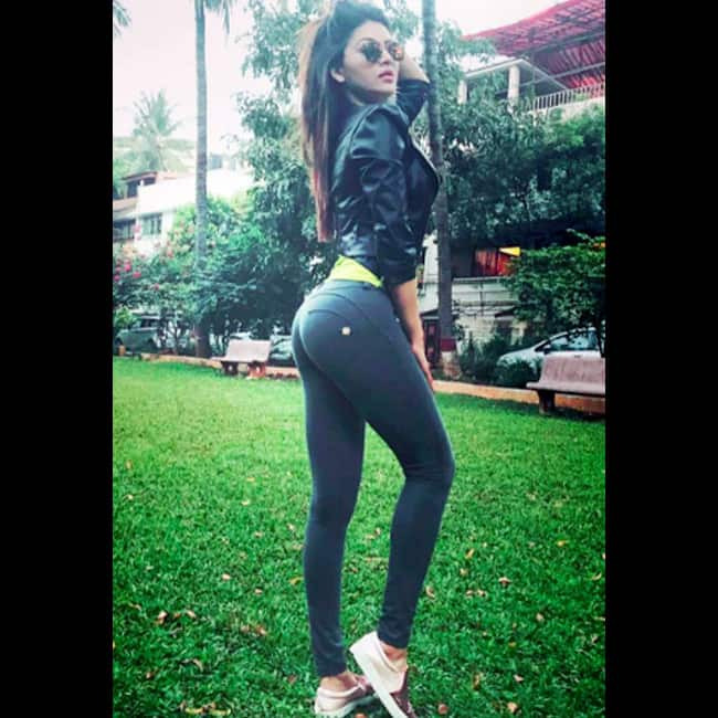 Urvashi Rautela poses for a hot picture