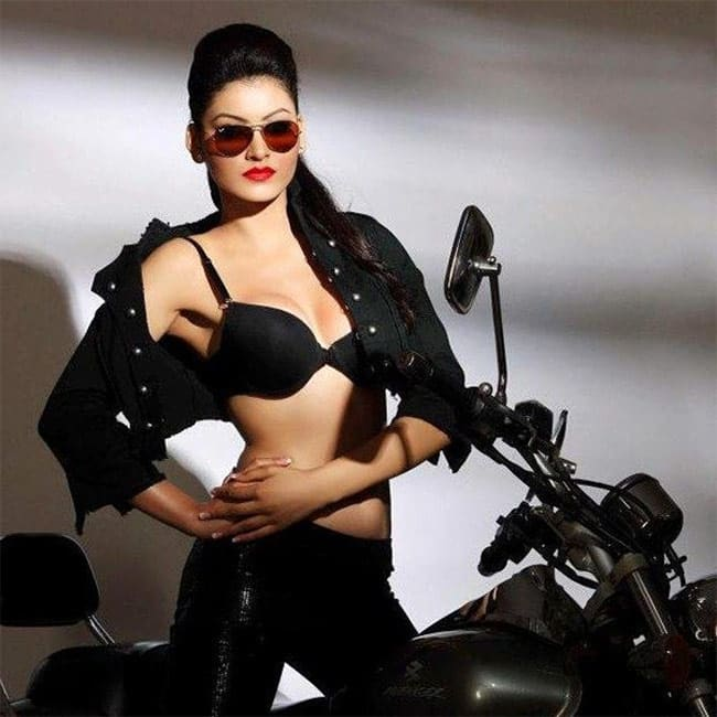 Urvashi Rautela posses super hot during a sexy HD photo shoot