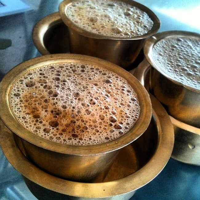 Use Indian filter coffees instead of Nestle