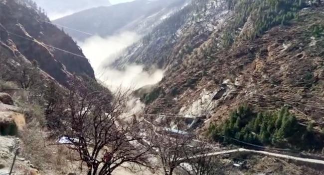 Uttarakhand Disaster  Glacier Breaks Off at Joshimath in Chamoli