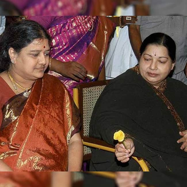 V K Sasikala is tainted by corruption charges