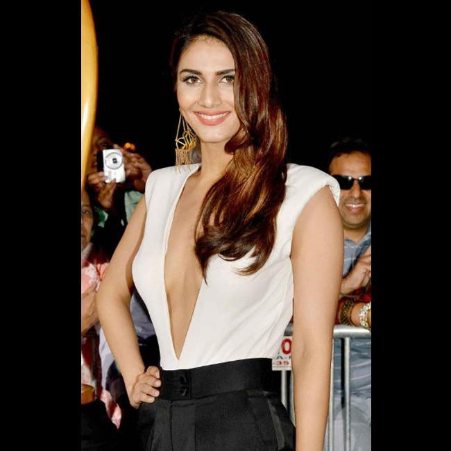 Vaani Kapoor flaunting cleavage during hot shoot