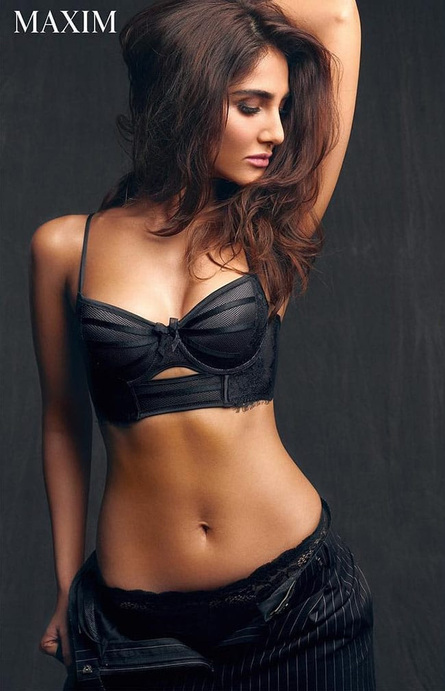 Vaani Kapoor   s suoer hot pose for Maxim shoot
