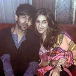 Sara Ali Khan-Kartik Aaryan's Unseen Pictures Break Internet Ahead of Love Aaj Kal's Release on Valentine's Day