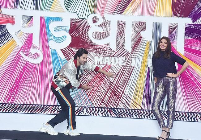 Varun and Anushka launch Sui Dhaaga trailer