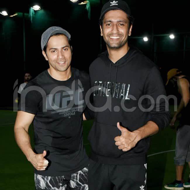 Varun and Vicky together