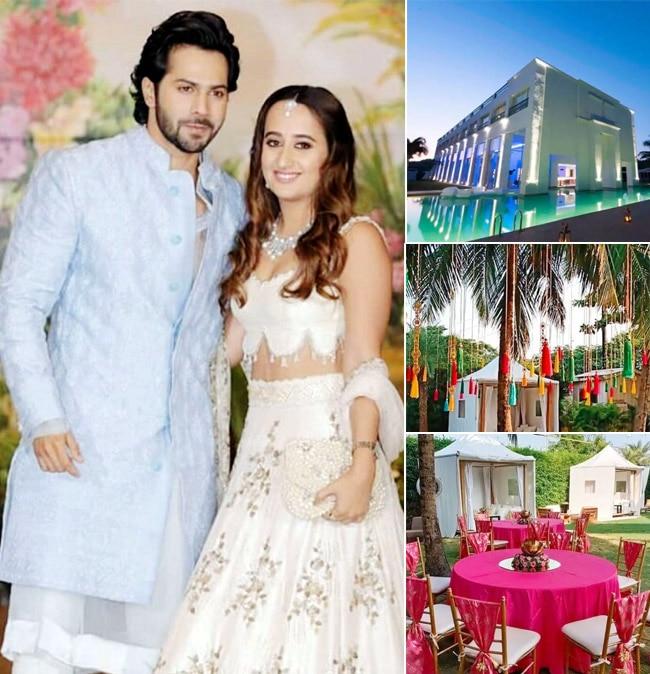 Varun Dhawan Natasha Dalal Wedding Venue  Check Out Beautiful 5 Star Property Pics