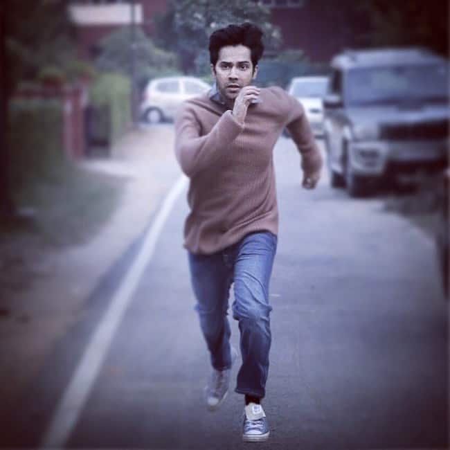 Varun Dhawan   s first look of October