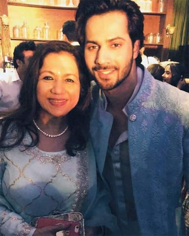 Varun Dhawan   s pictures with mother Karuna Dhawan