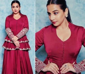 Vidya Balan Stuns in Beautiful Indian Outfits, Leaves Her Fans Amazed
