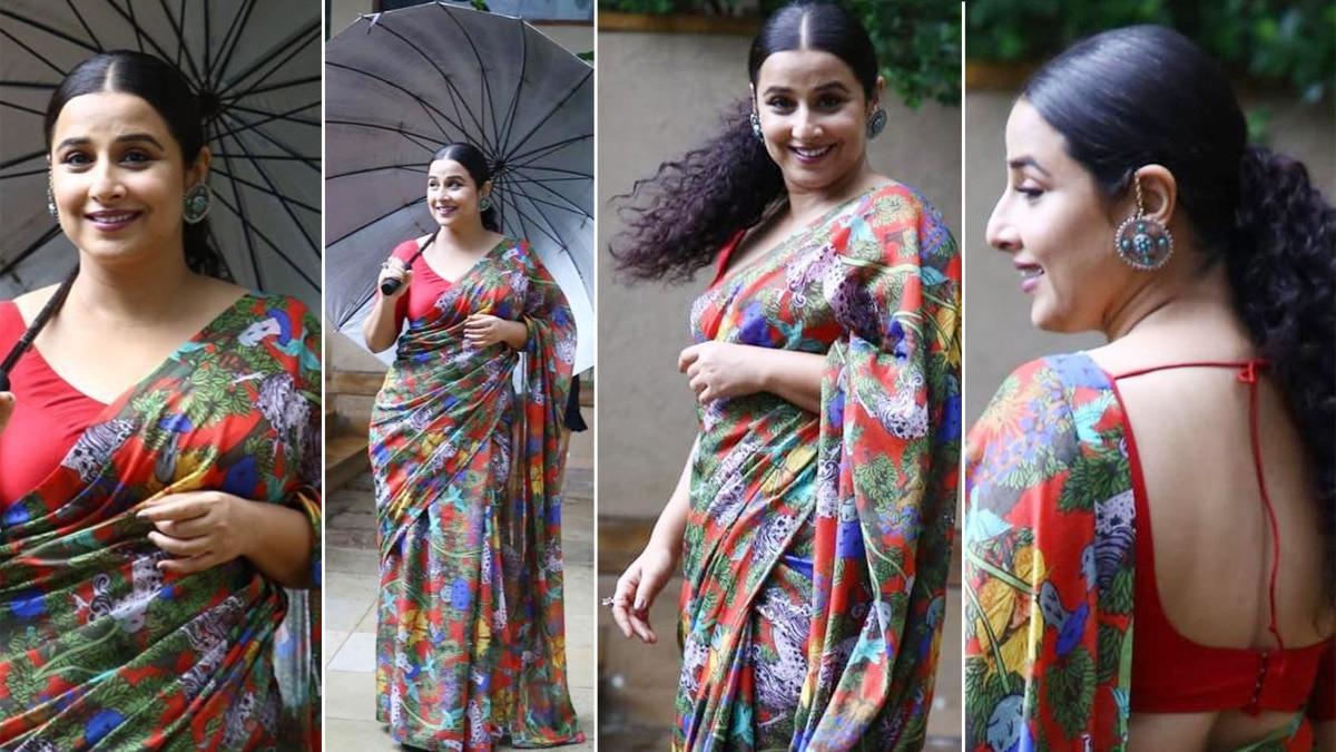 Vidya Balan Asks Fans Their Favourite Monsoon Song