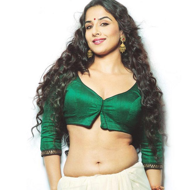 Vidya Balan flaunting hot curves during bold shoot