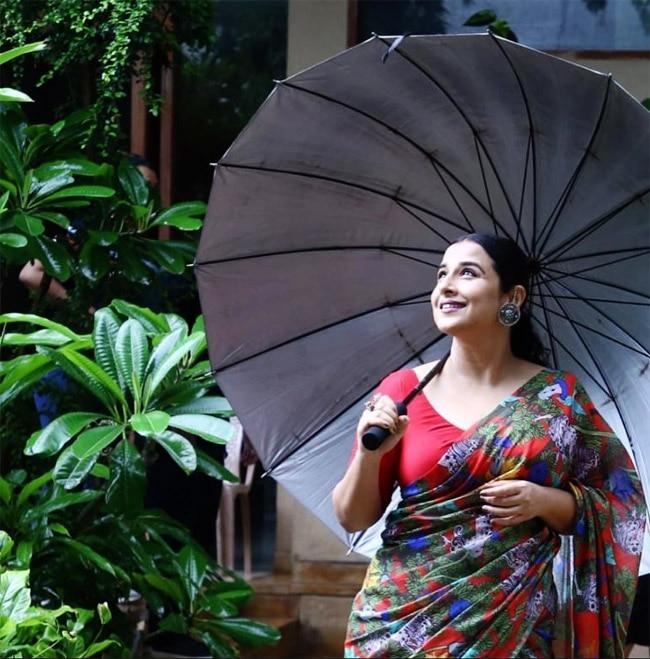 Vidya Balan Is All Set For Monsoon Season