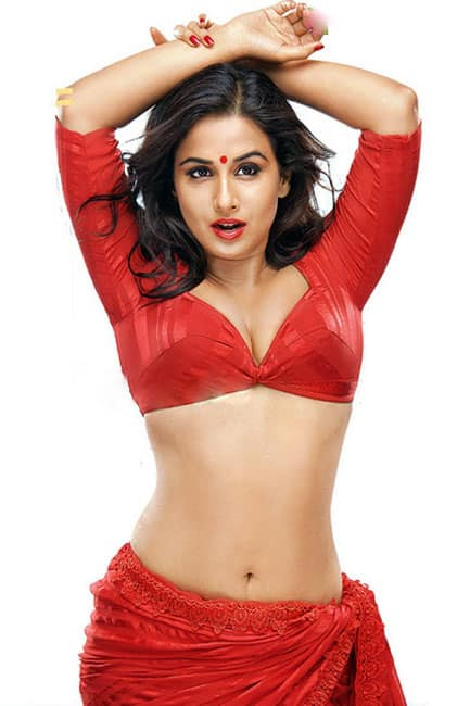 Vidya Balan looks red hot in this picture