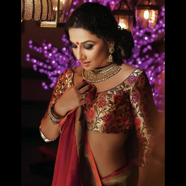 Vidya Balan poses for a ravishing picture
