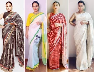 Vidya Balan is True Inspiration For Saree Lovers, Her Rs 99,000 Saree is a Proof!