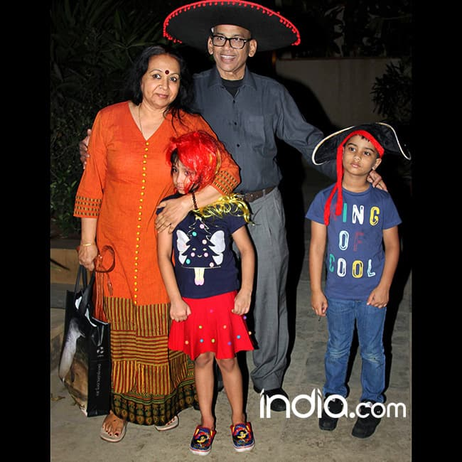 Vidya Balan   s parents at her birthday bash