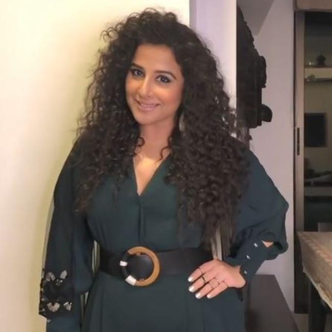 Vidya nails her 70s look