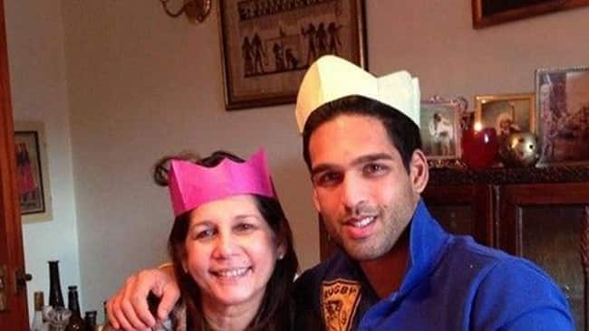 Vijay Mallya   s son Sidharth Mallya with his mother Sameera Tyabjee