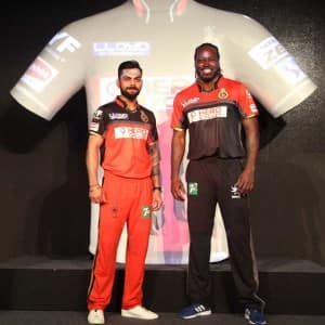 IPL 2016: Royal Challengers Bangalore new team jersey launched