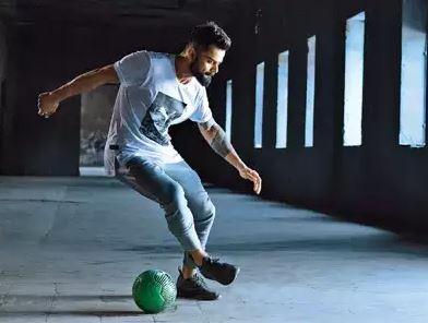 Virat Kohli Loves Soccer