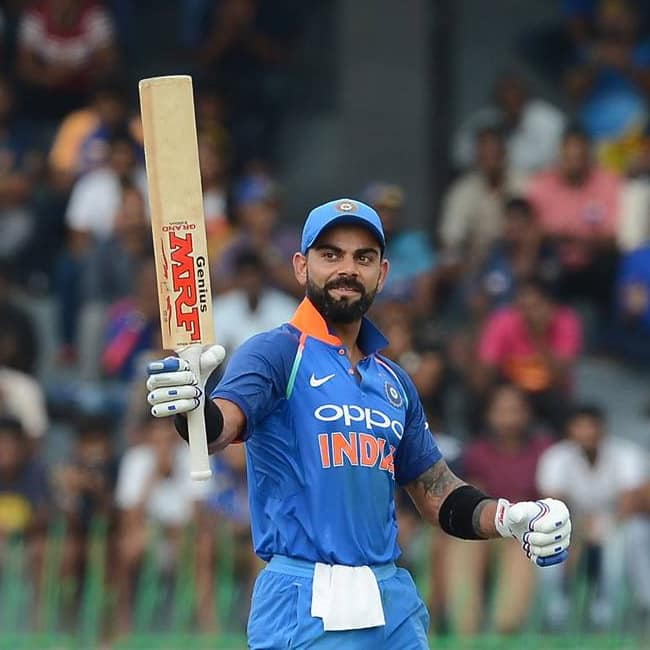 Virat Kohli ranks No  1 ODI batsman