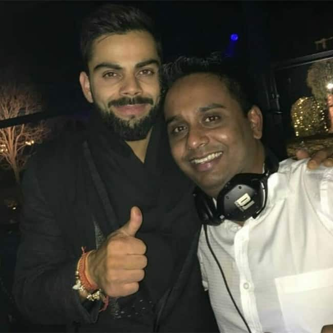 Virat Kohli snapped dancing in his post wedding party in Tuscany