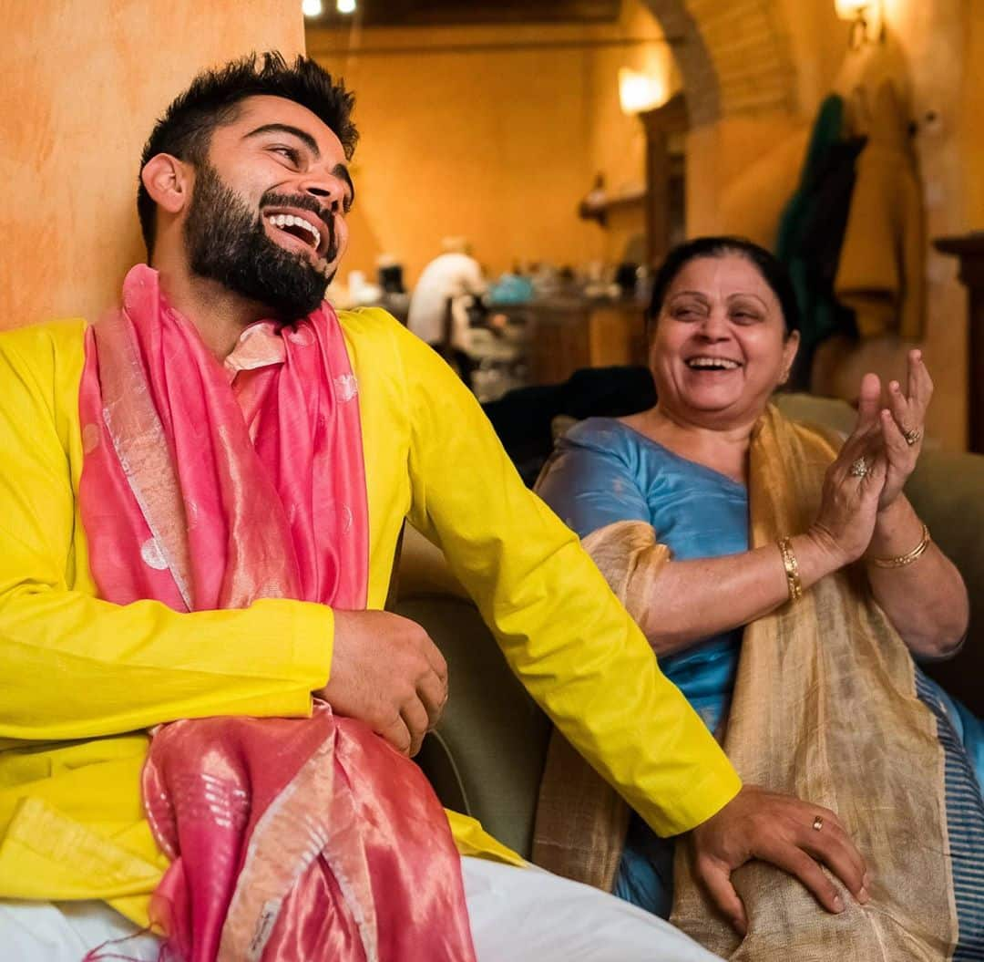 Virat Kohli Wishes Mom on Mother s Day