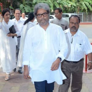 Tabu, Huma Qureshi, Imtiaz Ali attend film maker Vishal Bhardwaj's mother's prayer meet