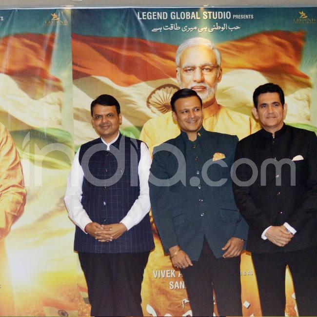 Vivek Oberoi Launches Poster of PM Narendra Modi Biopic
