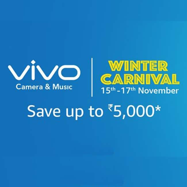 Vivo Winter Carnival Sale on Amazon begins from today